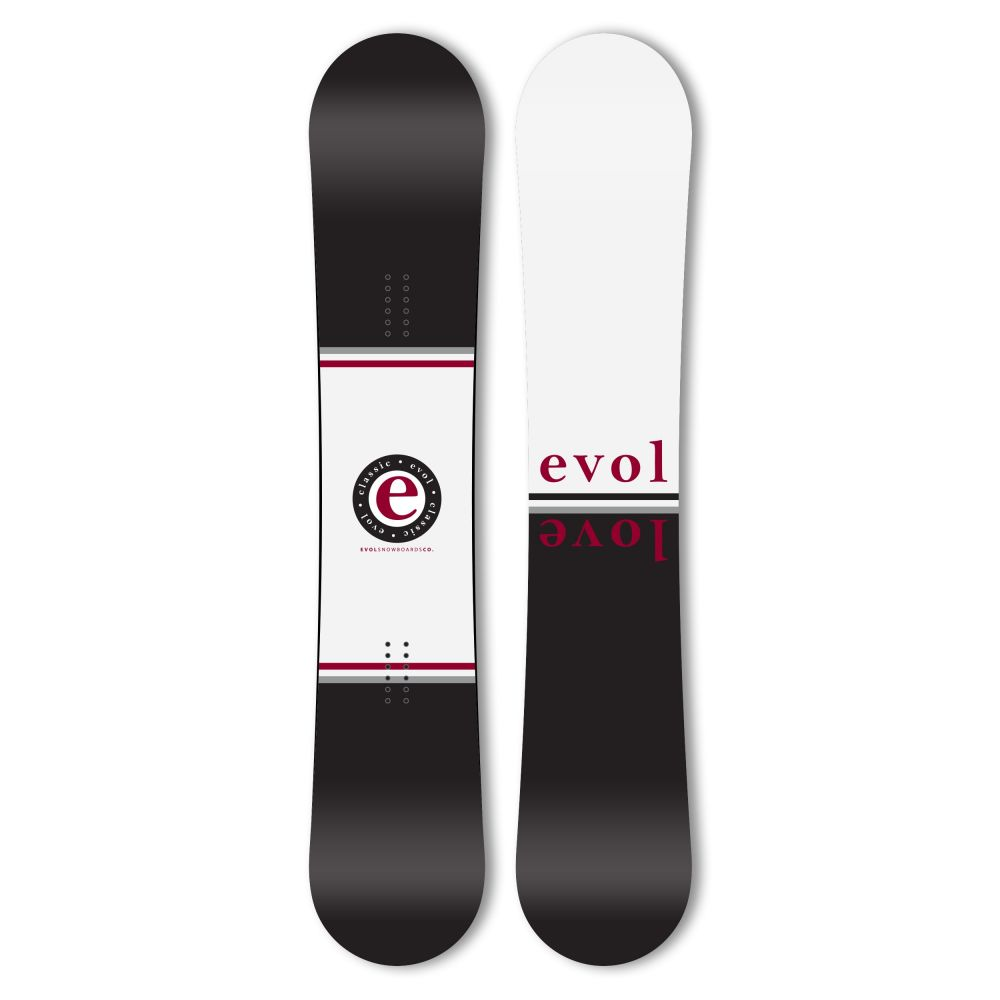 イーボル Evol メンズ スキー・スノーボード ボード・板【Classic Wide Snowboard 2020】