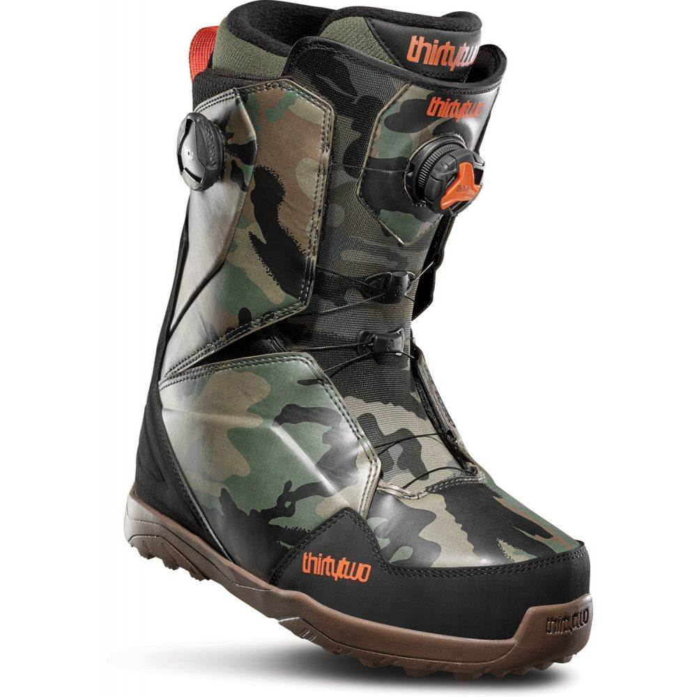 サーティーツー Thirty Two メンズ スキー・スノーボード ブーツ シューズ・靴【32 - Lashed Double BOA Snowboard Boots 2020】Camo