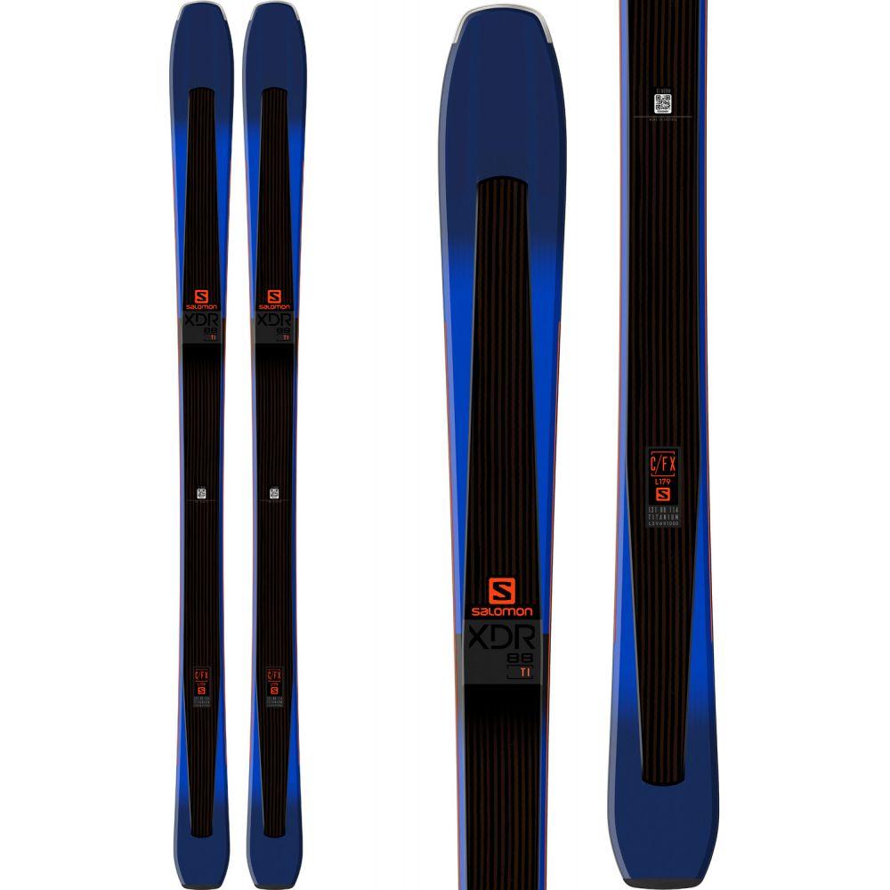 サロモン Salomon メンズ スキー・スノーボード ボード・板【XDR 88 Ti Skis】Black/Dark Blue/Orange