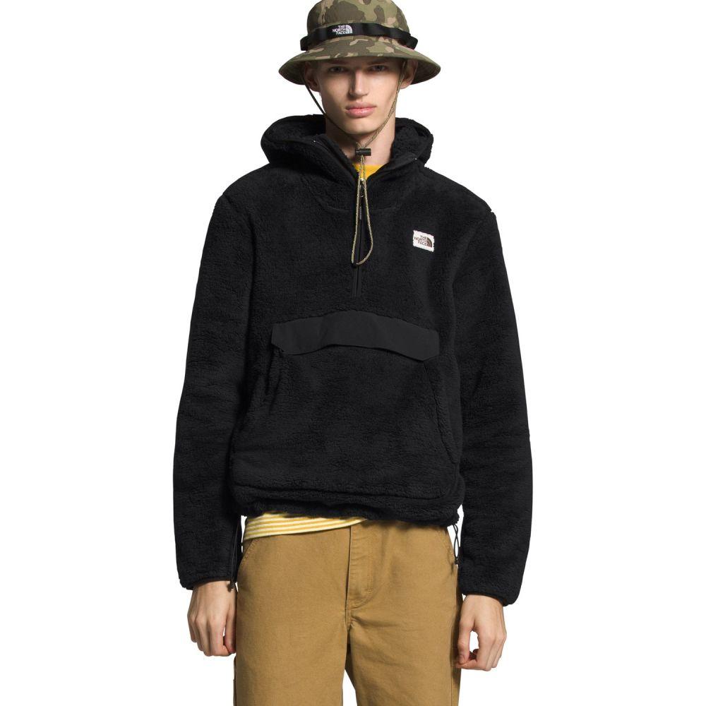 ザ ノースフェイス The North Face メンズ フリース トップス【Campshire Pullover Hoodie Fleece】TNF Black/TNF Black