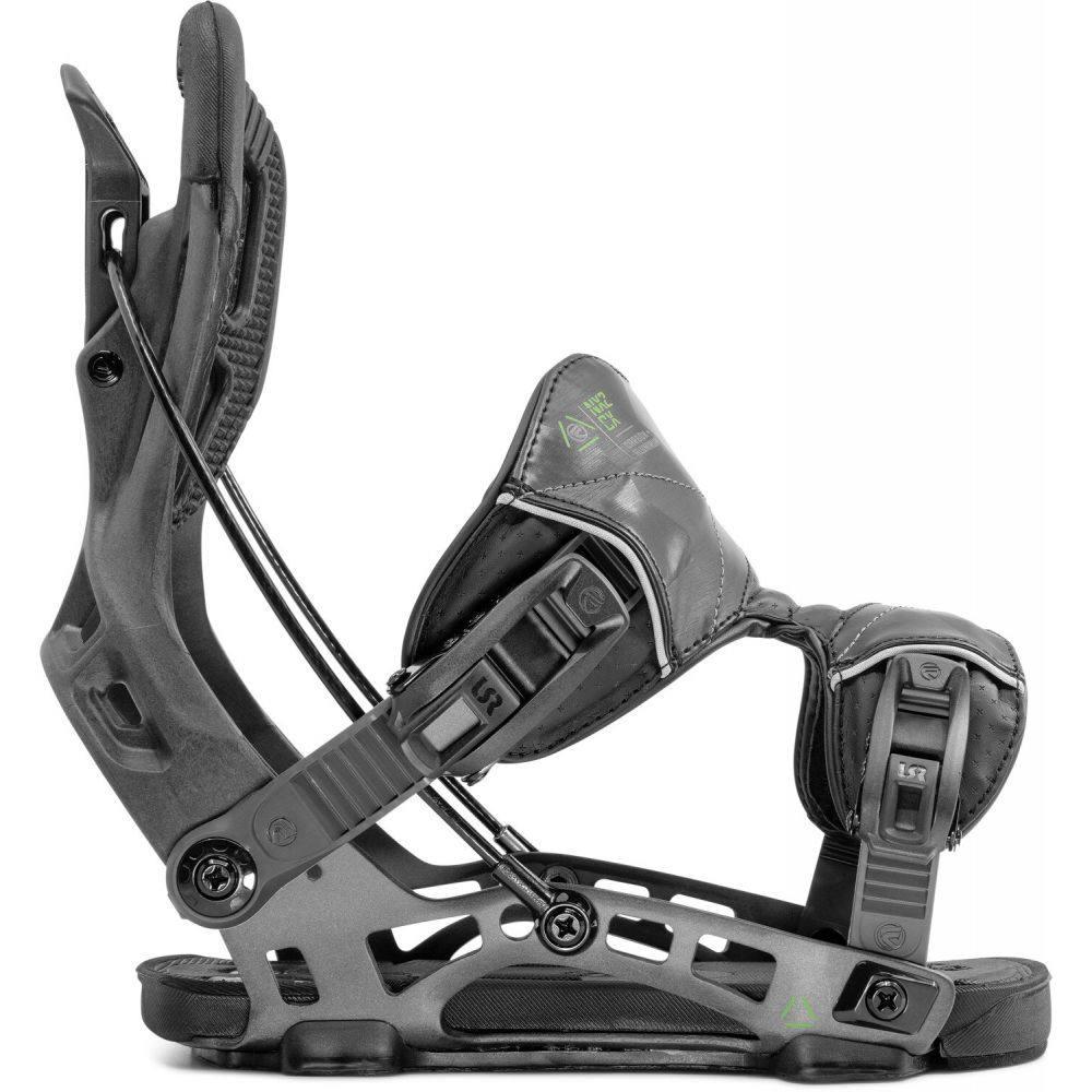 フロー Flow メンズ スキー・スノーボード ビンディング【NX2-CX Fusion Snowboard Bindings 2020】Graphite