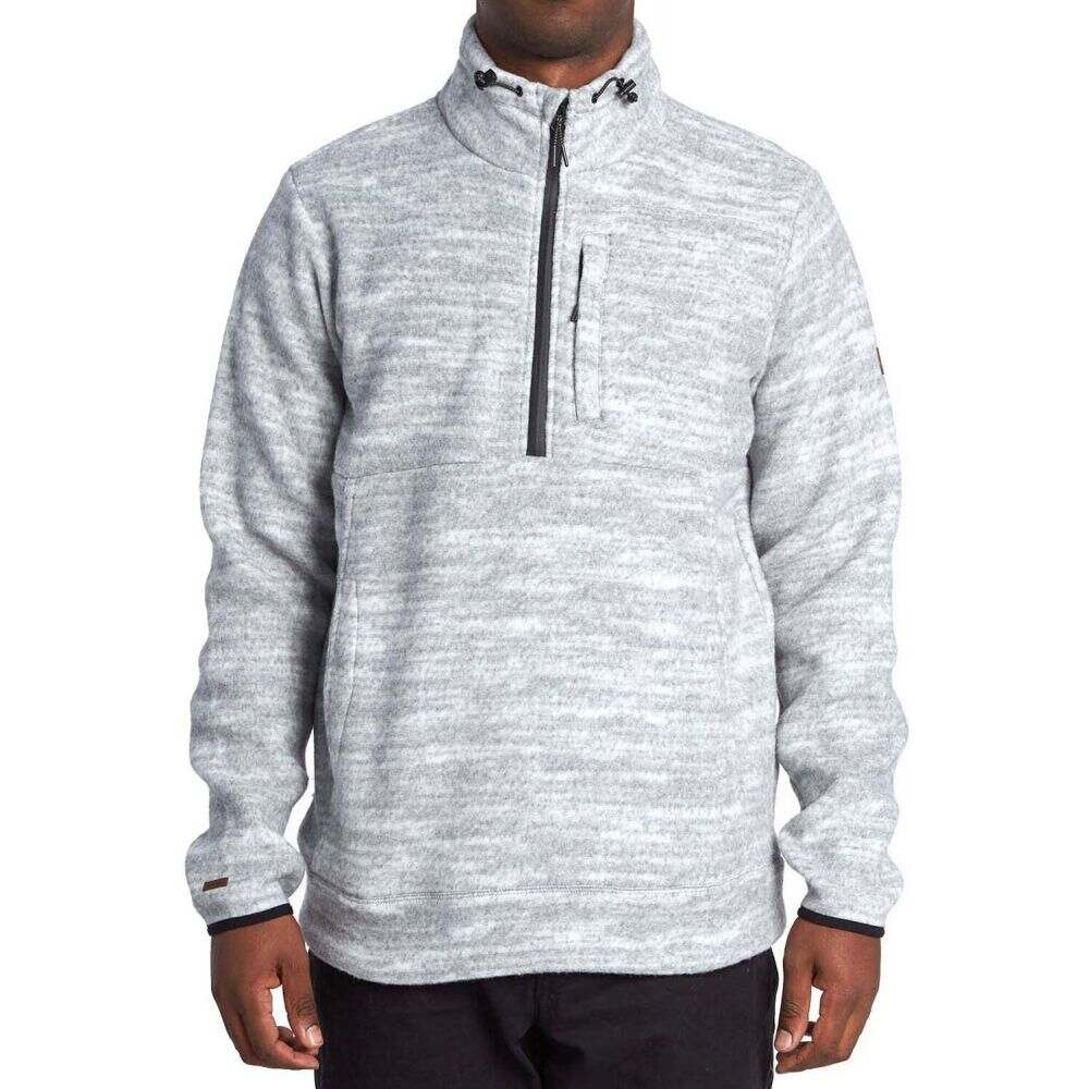 ビラボン Billabong メンズ フリース トップス【Boundary Mock Half-Zip Pullover Fleece】Light Grey