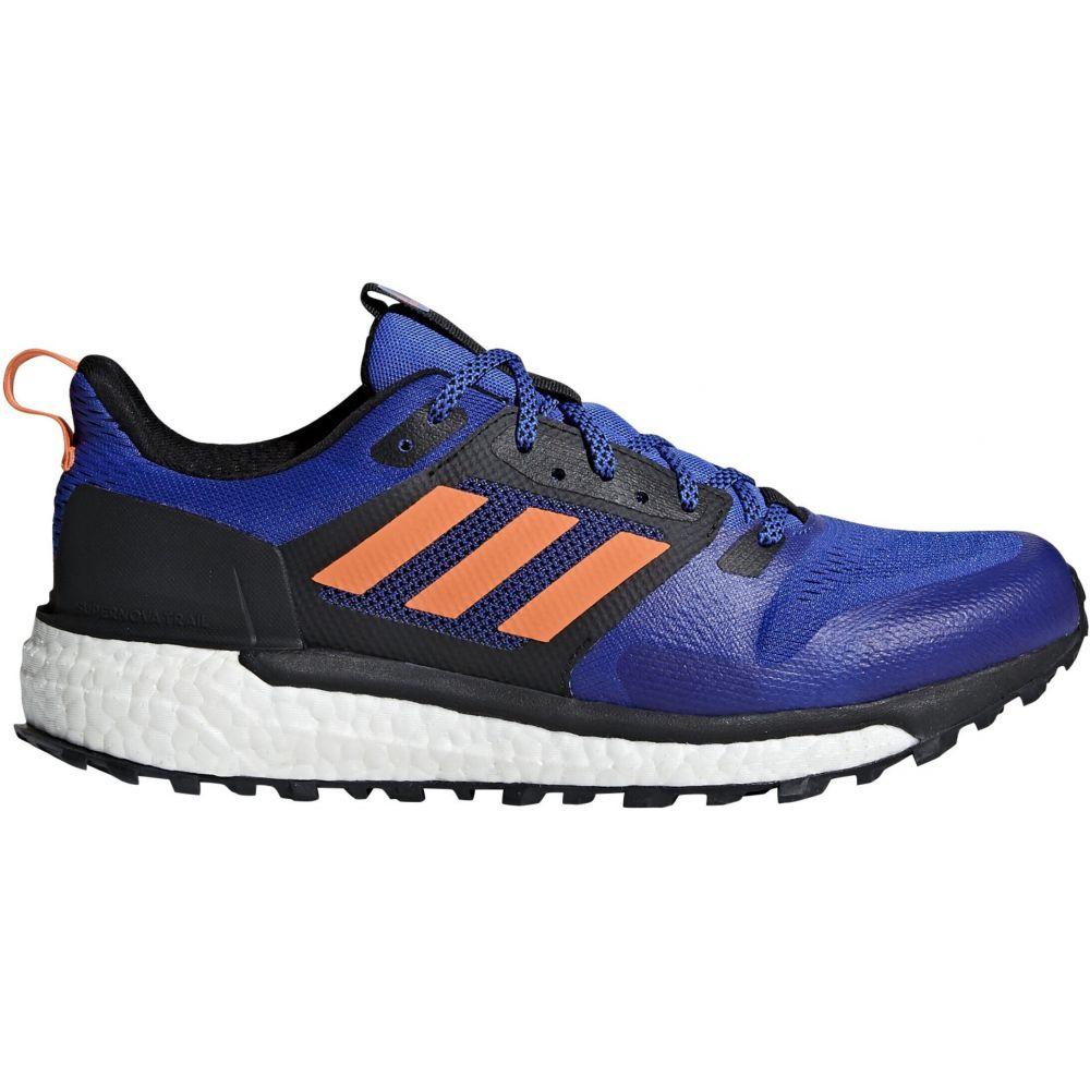 アディダス Adidas メンズ ランニング・ウォーキング シューズ・靴【Supernova Trail Running Shoes】Hi-Res Blue/Hi-Res Orange/Black