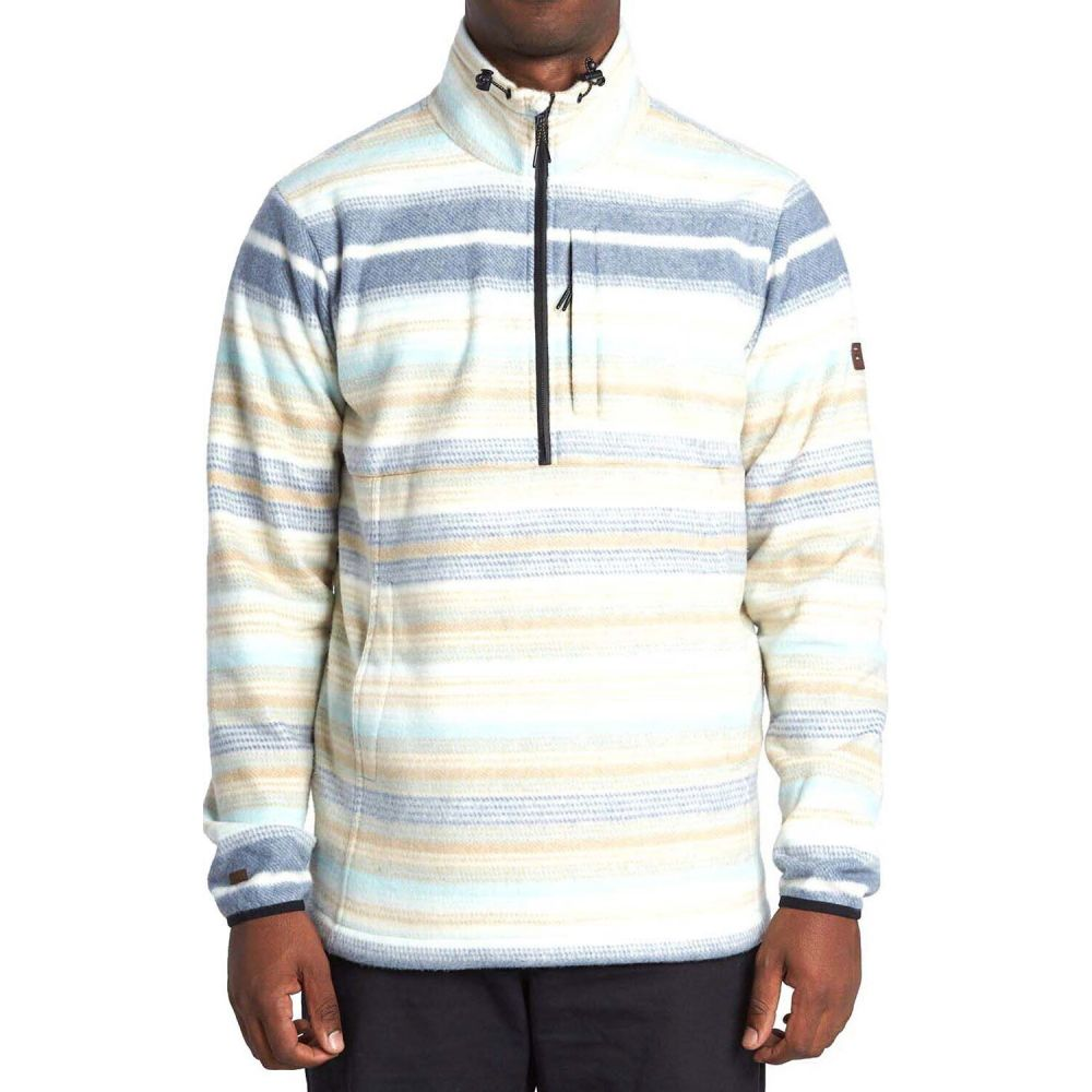 ビラボン Billabong メンズ フリース トップス【Boundary Mock Lite Polar Fleece】Stone