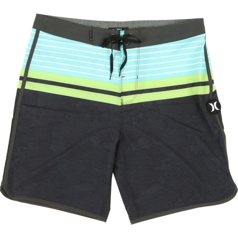 ハーレー Hurley メンズ 海パン 水着・ビーチウェア【Phantom Aloha Stripe 19in Boardshorts】Black