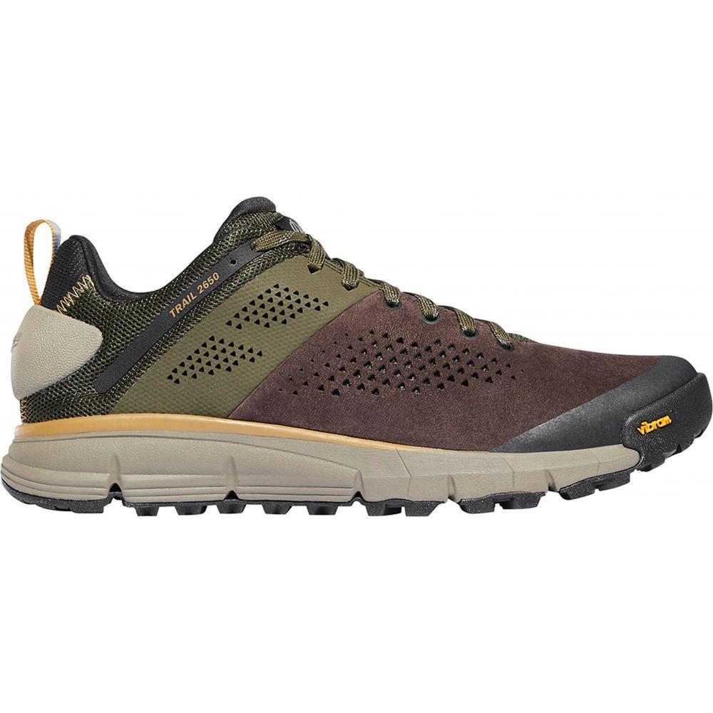 ダナー Danner メンズ ランニング・ウォーキング シューズ・靴【Trail 2650 Trail Running Shoes】Dark Brown/Green