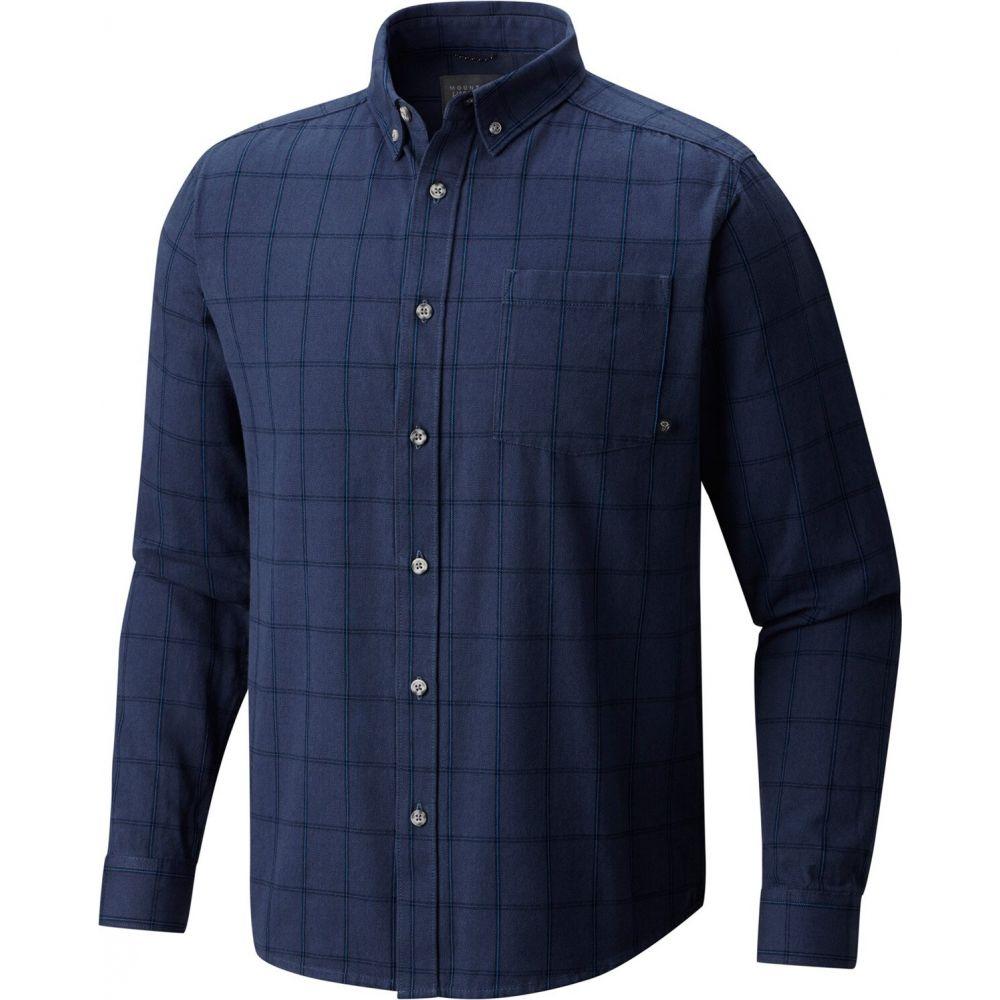 マウンテンハードウェア Mountain Hardwear メンズ シャツ トップス【Ashby L/S Shirt】Zinc