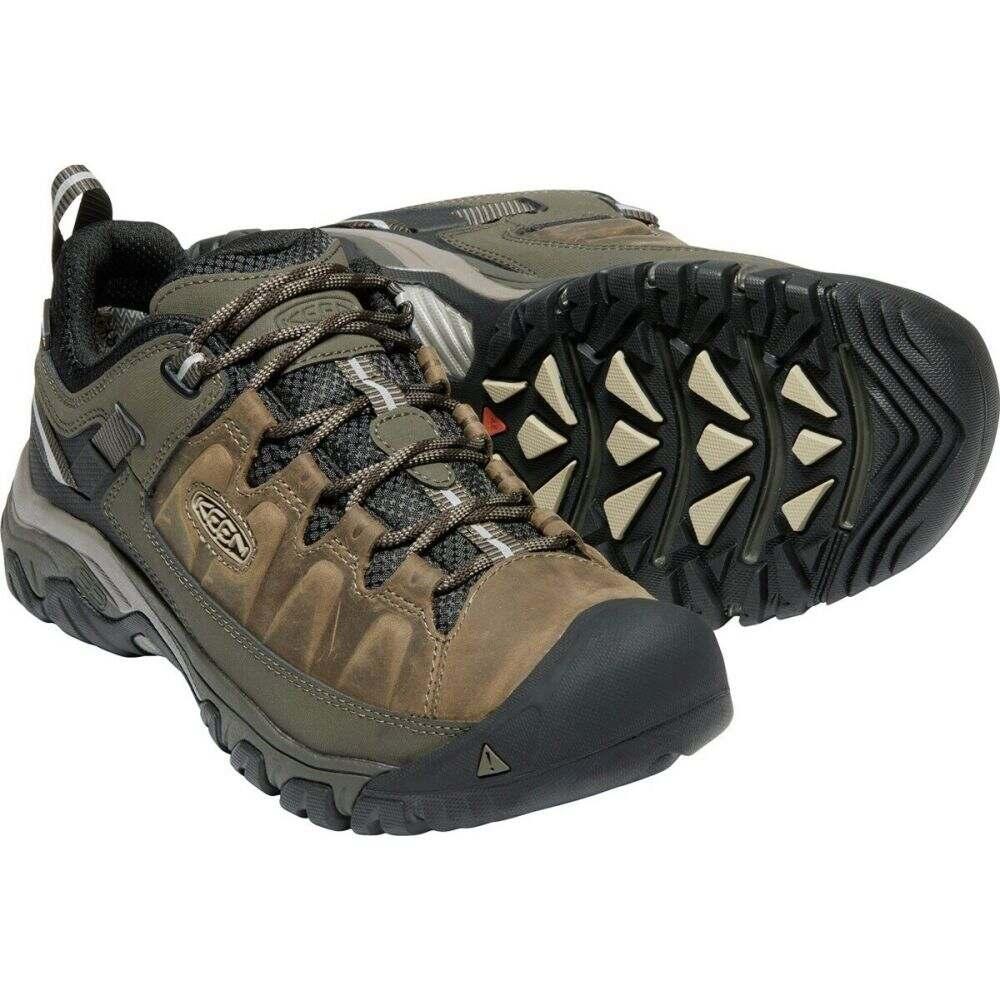 キーン Keen メンズ ハイキング・登山 シューズ・靴【Targhee III WP Hiking Shoes】Bungee Cord/Black