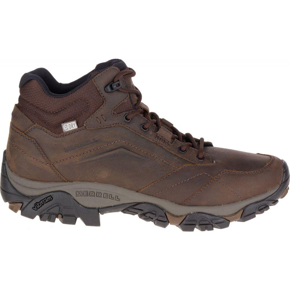 メレル Merrell メンズ ハイキング・登山 ブーツ シューズ・靴【Moab Adventure Mid Waterproof Hiking Boots】Dark Earth