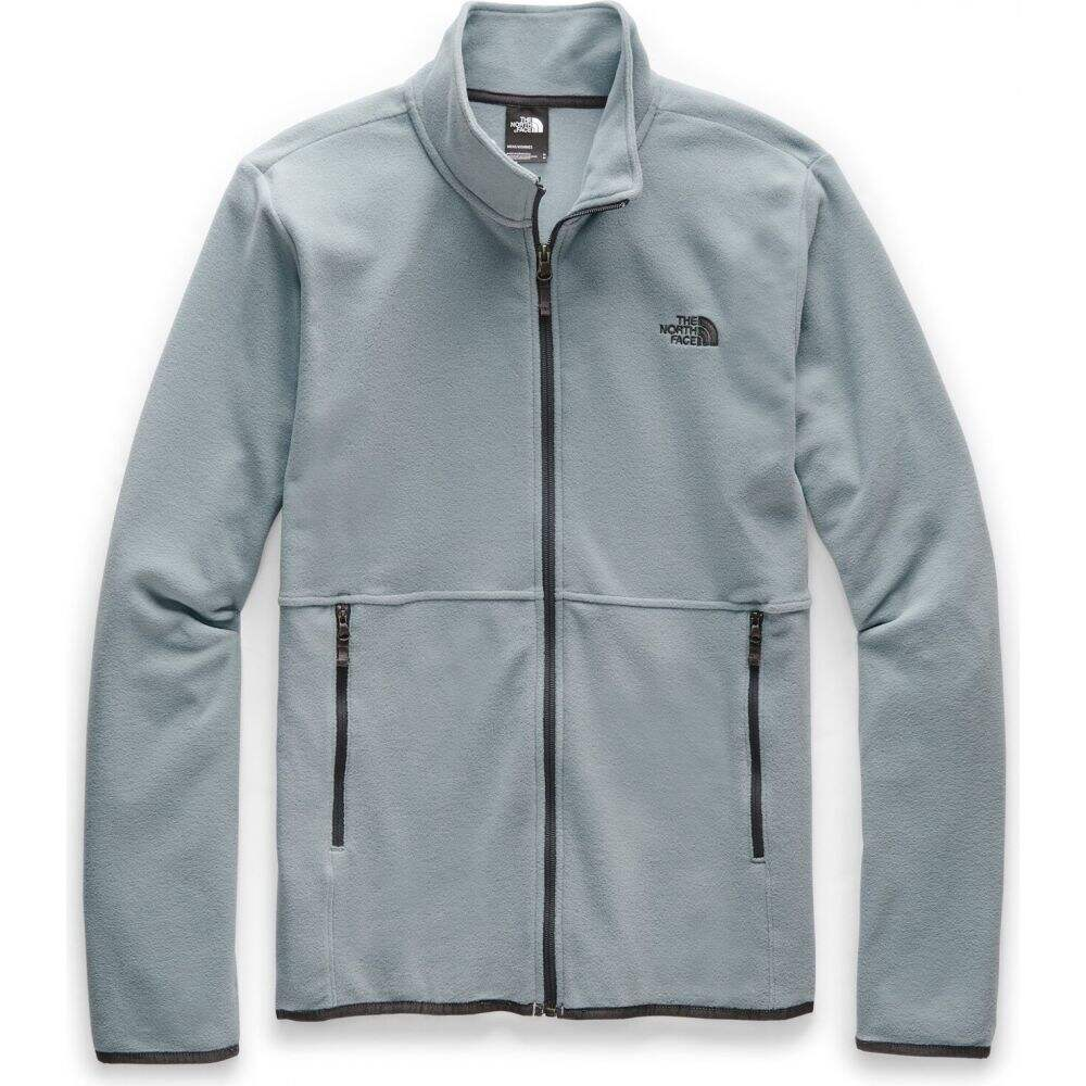 ザ ノースフェイス The North Face メンズ フリース トップス【TKA Glacier Full Zip Fleece】Mid Grey/Mid Grey