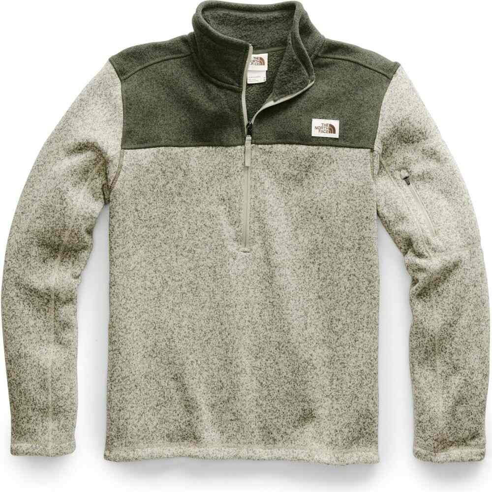 ザ ノースフェイス The North Face メンズ フリース トップス【Gordon Lyons 1/4 Zip Fleece】Granite Bluff Tan Heather/New Taupe Green Heather
