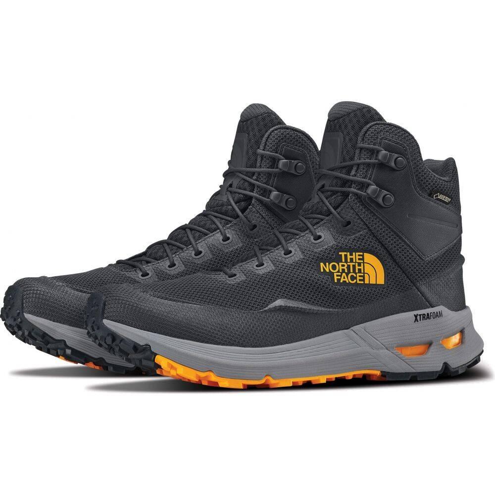 ザ ノースフェイス The North Face メンズ ハイキング・登山 ブーツ シューズ・靴【Safien Mid GTX Hiking Boots】Ebony Grey/Zinnia Orange