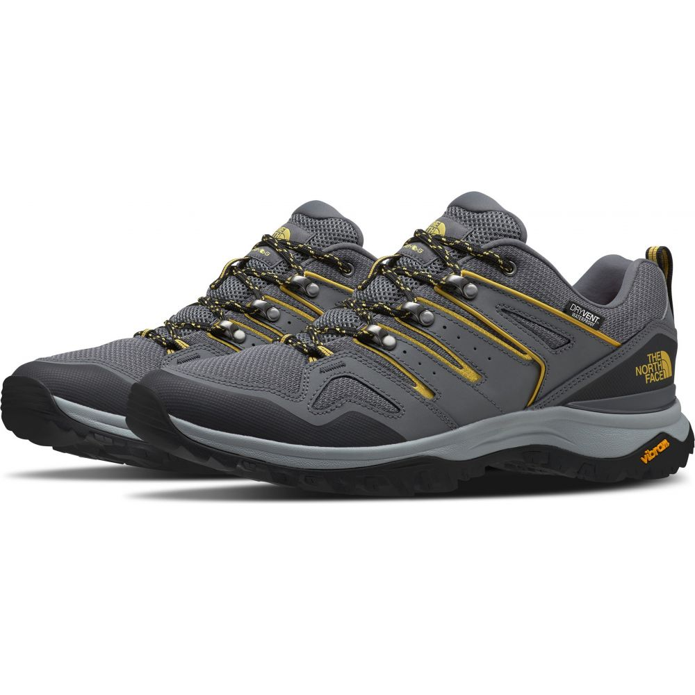 ザ ノースフェイス The North Face メンズ ハイキング・登山 シューズ・靴【Hedgehog Fastpack II WP Wide Hiking Shoes】Zinc Grey/Bamboo Yellow