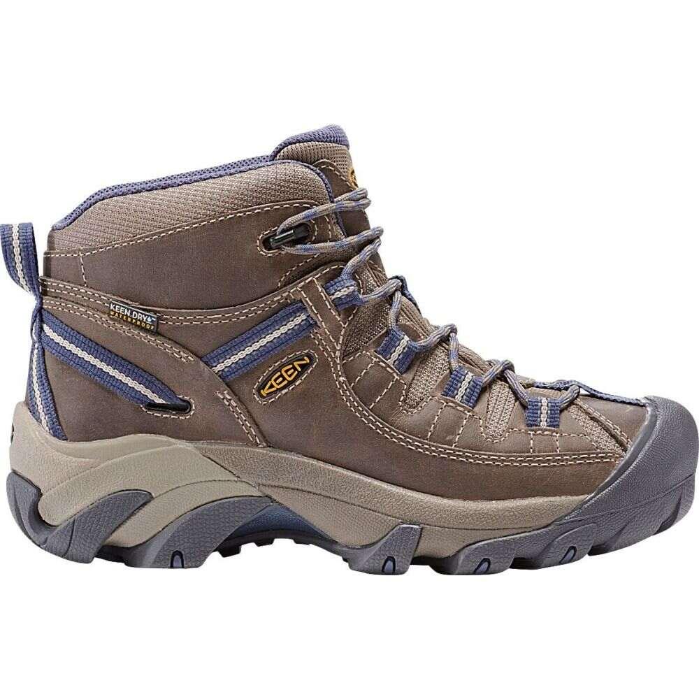 キーン Keen レディース ハイキング・登山 シューズ・靴【Targhee II Mid WP Hiking Boots】Goat/Crown Blue