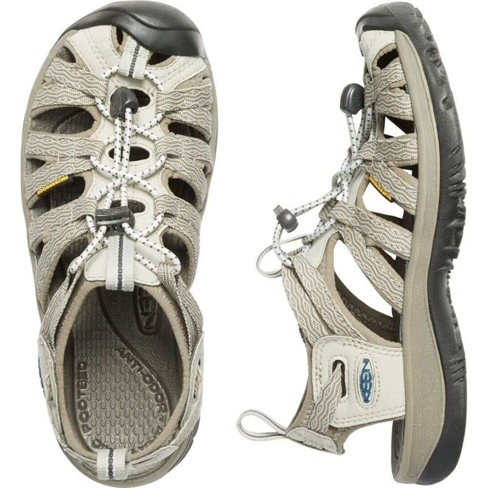 キーン Keen レディース サンダル・ミュール シューズ・靴【Whisper Sandals】Agate Grey/Blue Opal