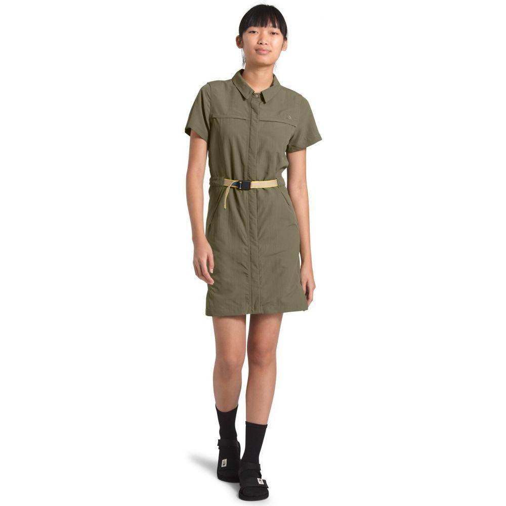 ザ ノースフェイス The North Face レディース ワンピース ワンピース・ドレス【Class V Dress】Burnt Olive Green