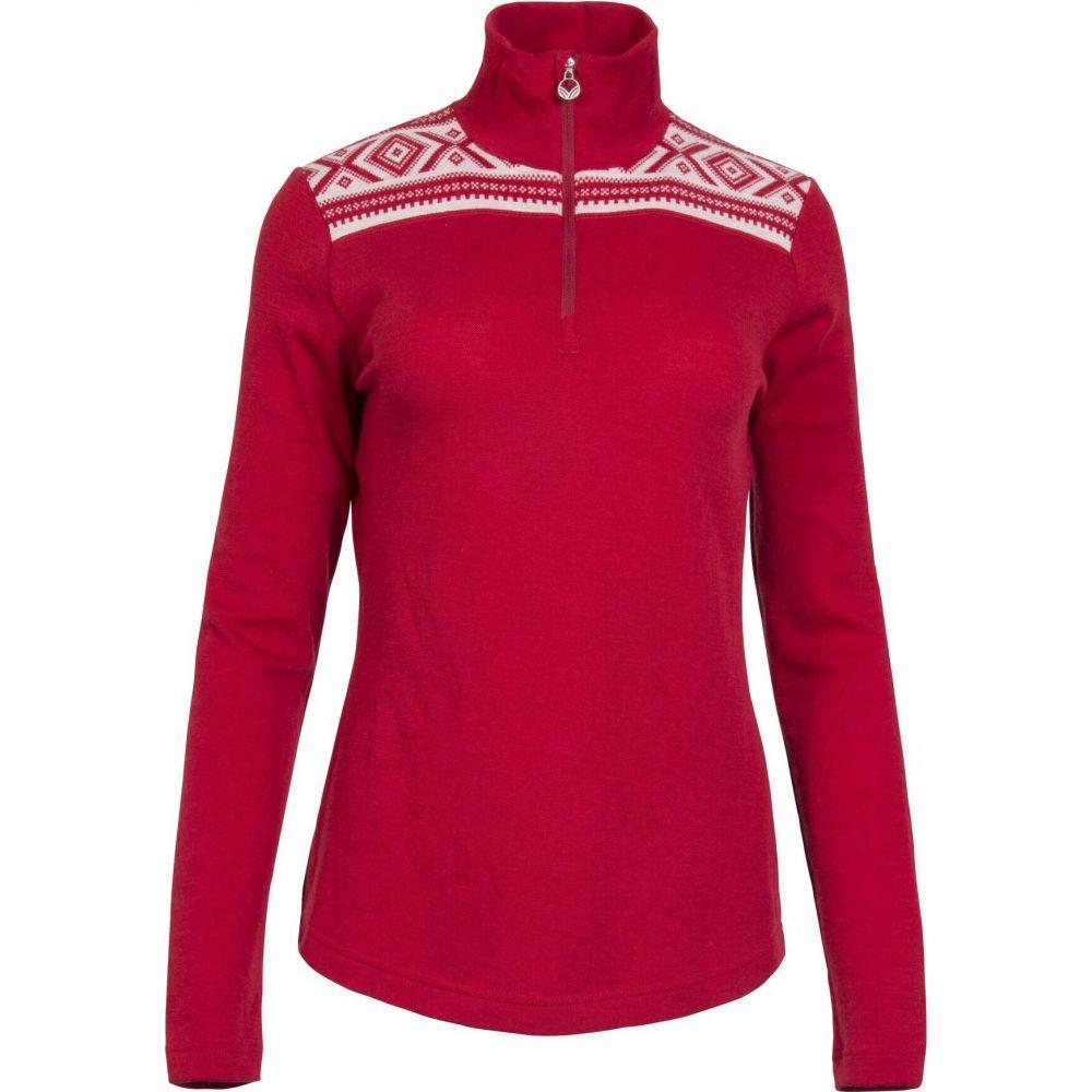ダーレ オブ ノルウェイ Dale of Norway レディース ニット・セーター トップス【Dale Of Norway Cortina Basic Sweater】Raspberry/Off White