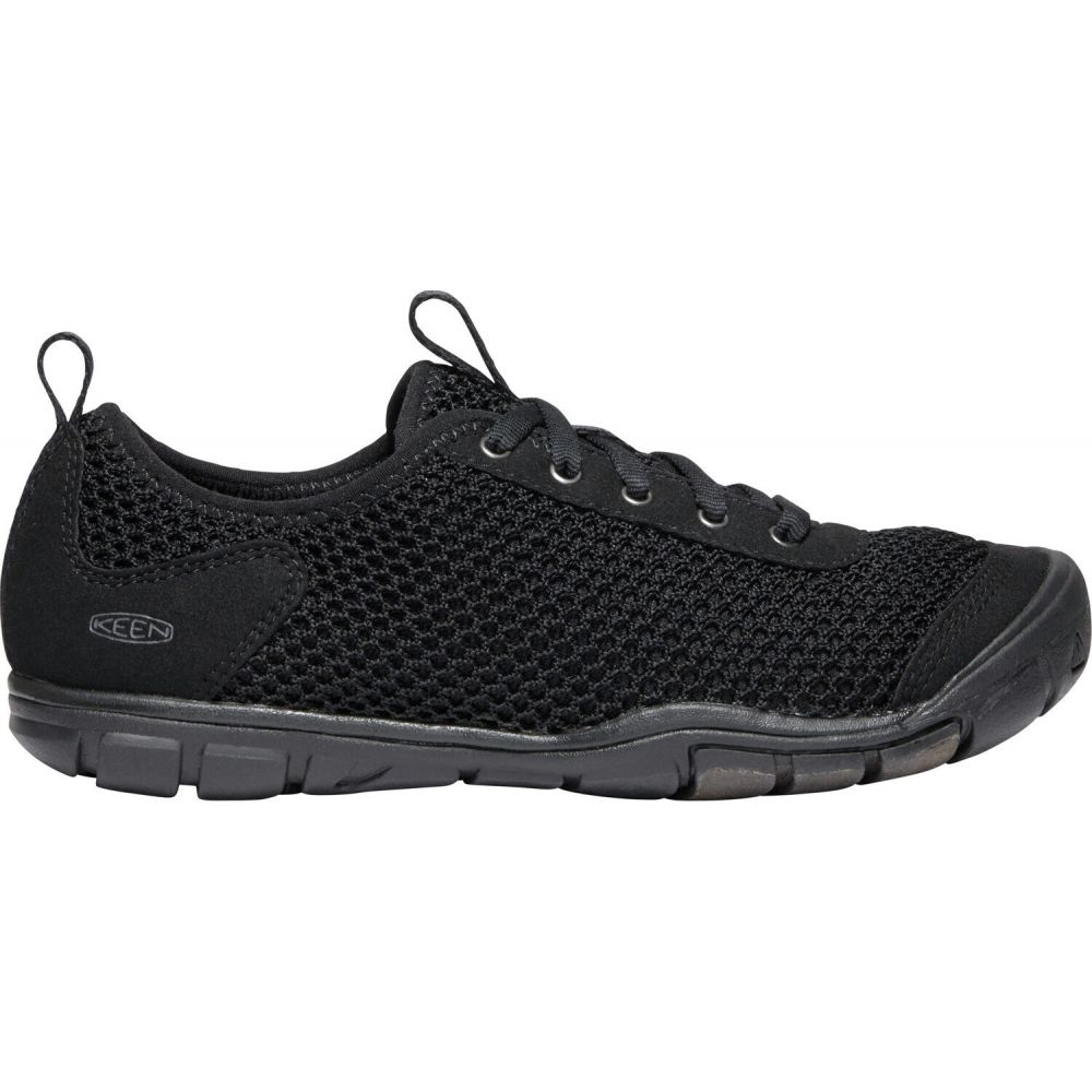 キーン Keen レディース シューズ・靴 【Hush Knit CNX Shoes】Black/Raven