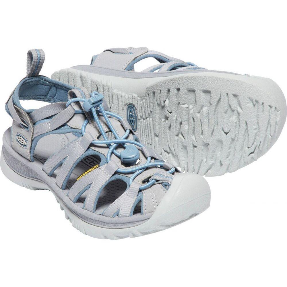 キーン Keen レディース サンダル・ミュール シューズ・靴【Whisper Sandals】Blue Shadow Alloy
