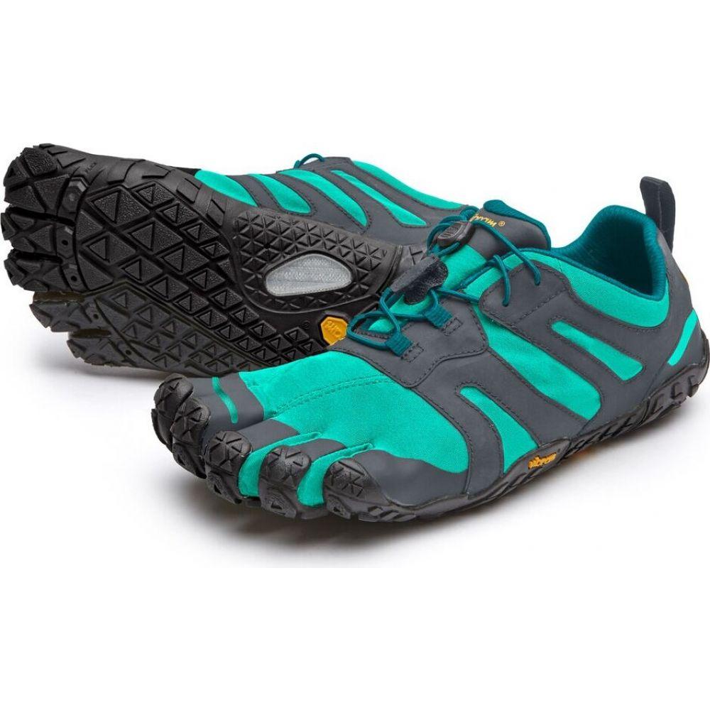 ビブラム Vibram レディース ハイキング・登山 ファイブフィンガーズ シューズ・靴【FiveFingers V-Trail 2.0 Hiking Shoes】Blue/Green