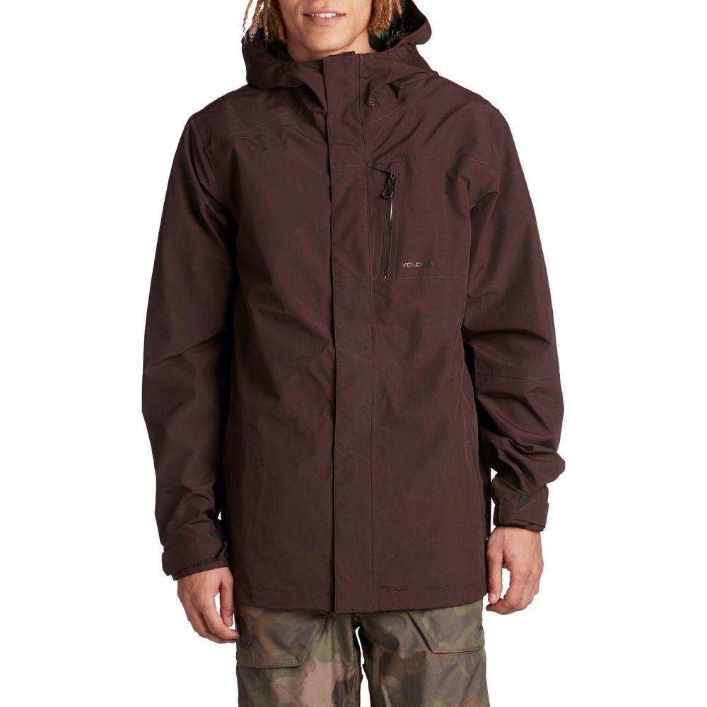 ボルコム Volcom メンズ ジャケット アウター【x evo L GORE-TEX Jacket】Black Red