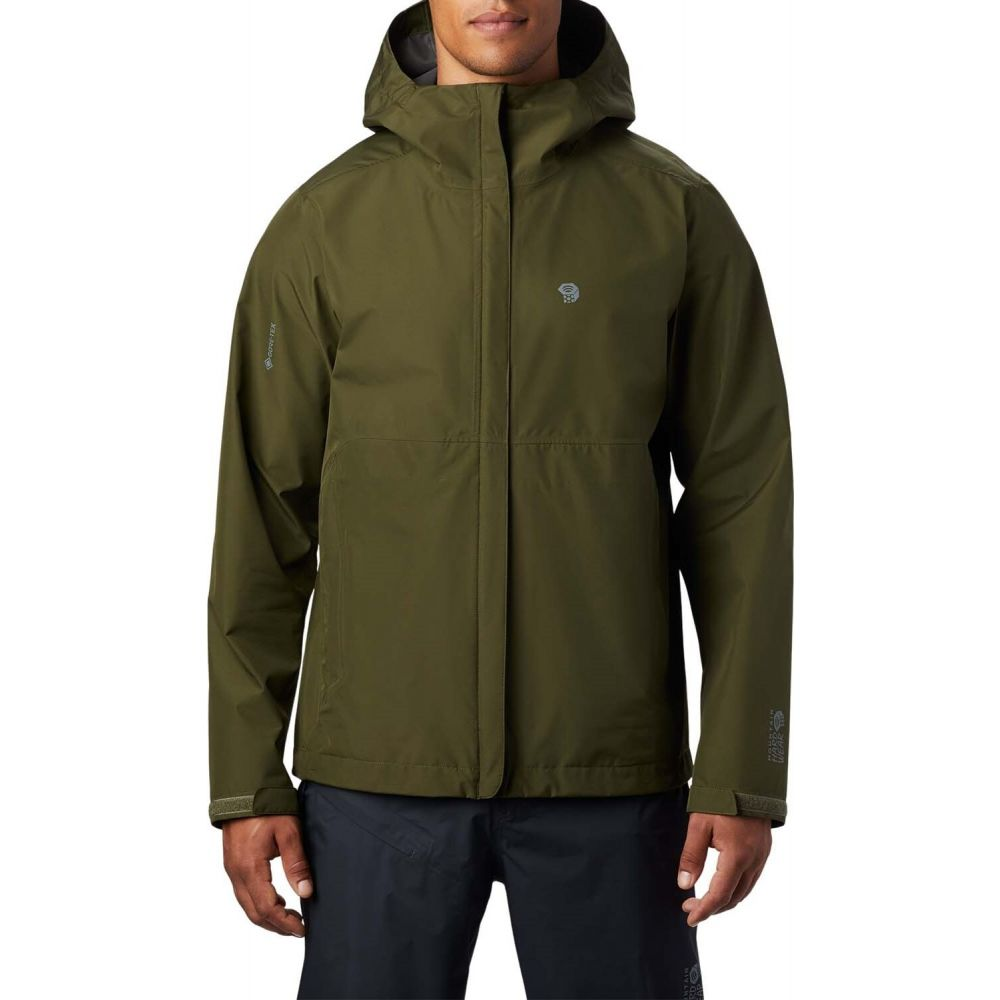 マウンテンハードウェア Mountain Hardwear メンズ ジャケット アウター【Exposure/2(TM) GORE-TEX Paclite Jacket】Dark Army