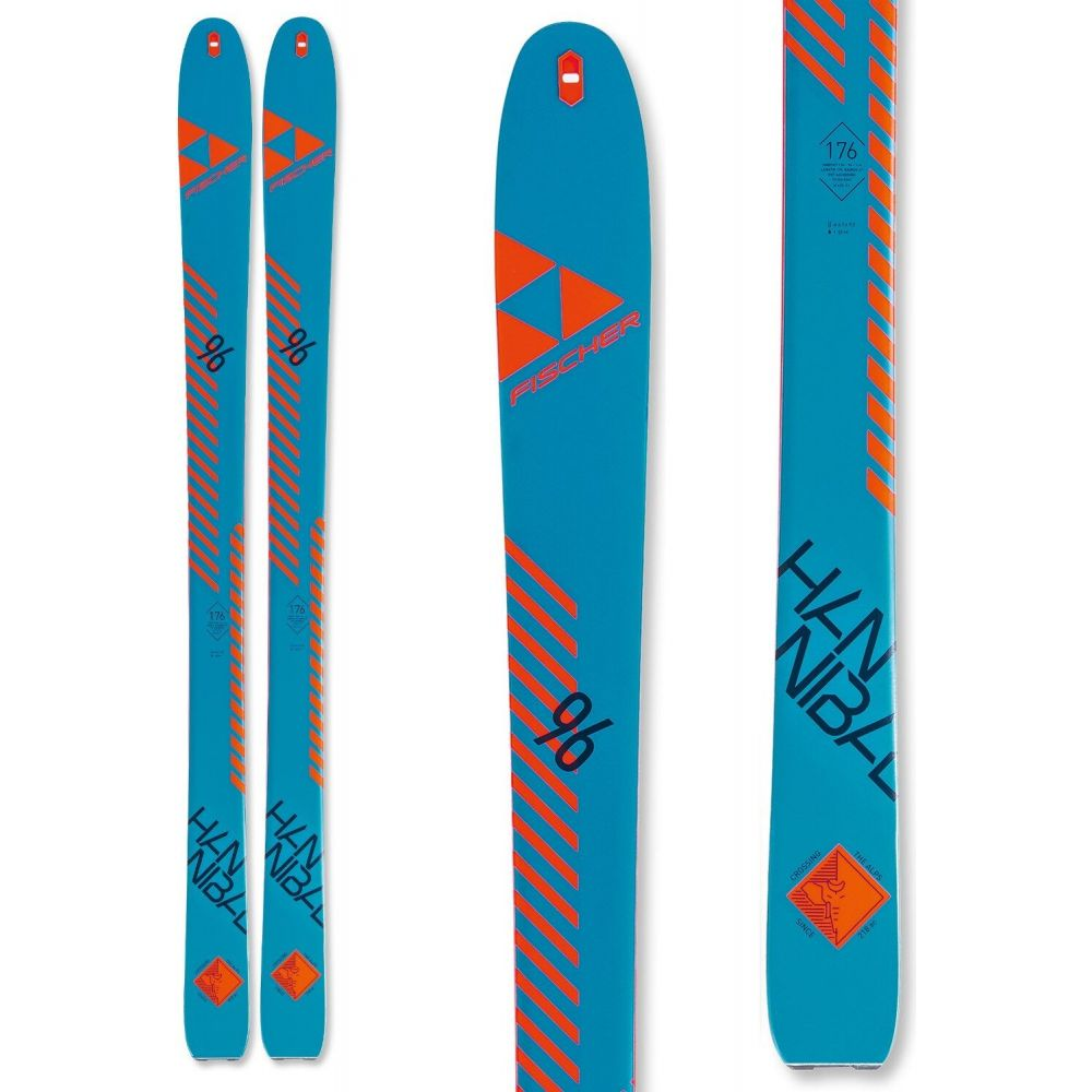 フィッシャー Fischer ユニセックス スキー・スノーボード ボード・板【Hannibal 96 Carbon Skis 2020 + Salomon S/Lab Shift MNC Alpine Touring Ski Bindings 2020】