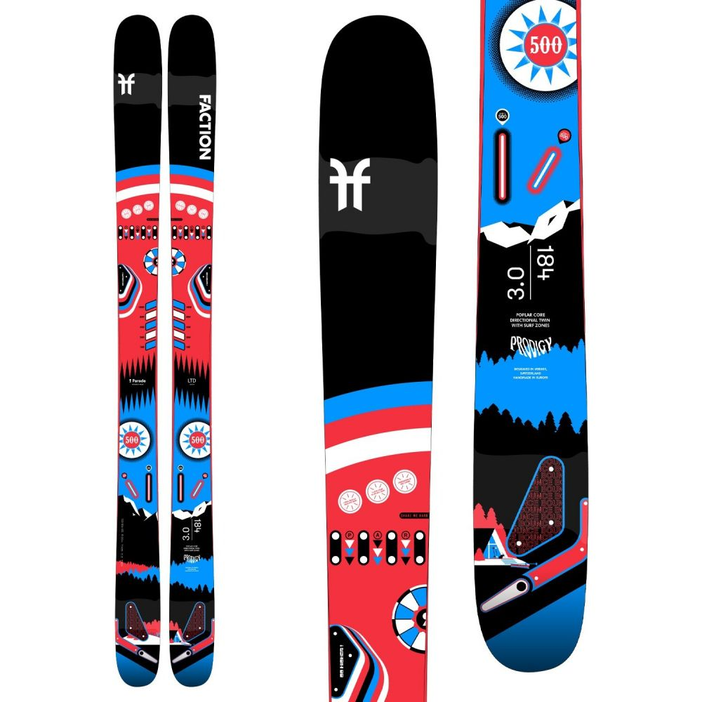 ファクション Faction ユニセックス スキー・スノーボード ボード・板【Prodigy 3.0 x Parade Collab Skis 2021】
