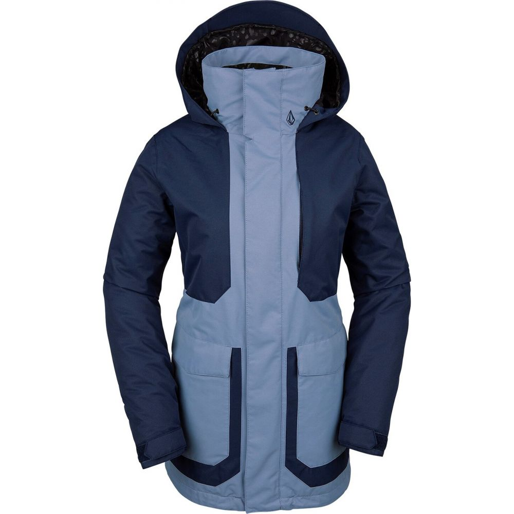 ボルコム Volcom レディース ジャケット アウター【Leeland Jacket】Washed Blue