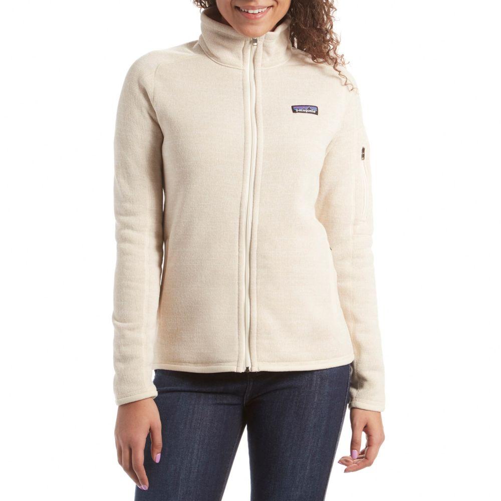 パタゴニア Patagonia レディース ジャケット アウター【Better Sweater Jacket】Oyster White