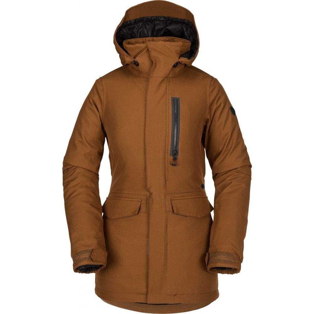 ボルコム Volcom レディース ジャケット アウター【Shelter 3D Stretch Jacket】Copper