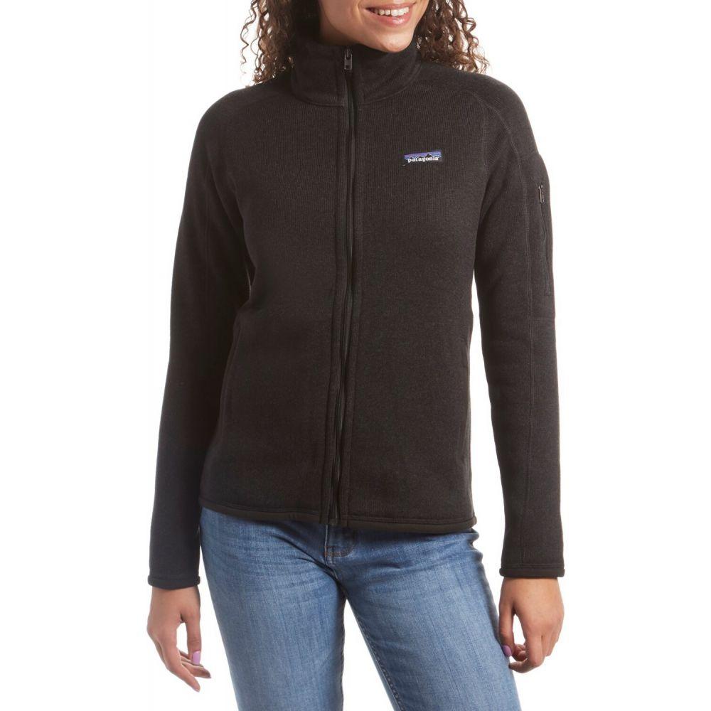パタゴニア Patagonia レディース ジャケット アウター【Better Sweater Jacket】Black