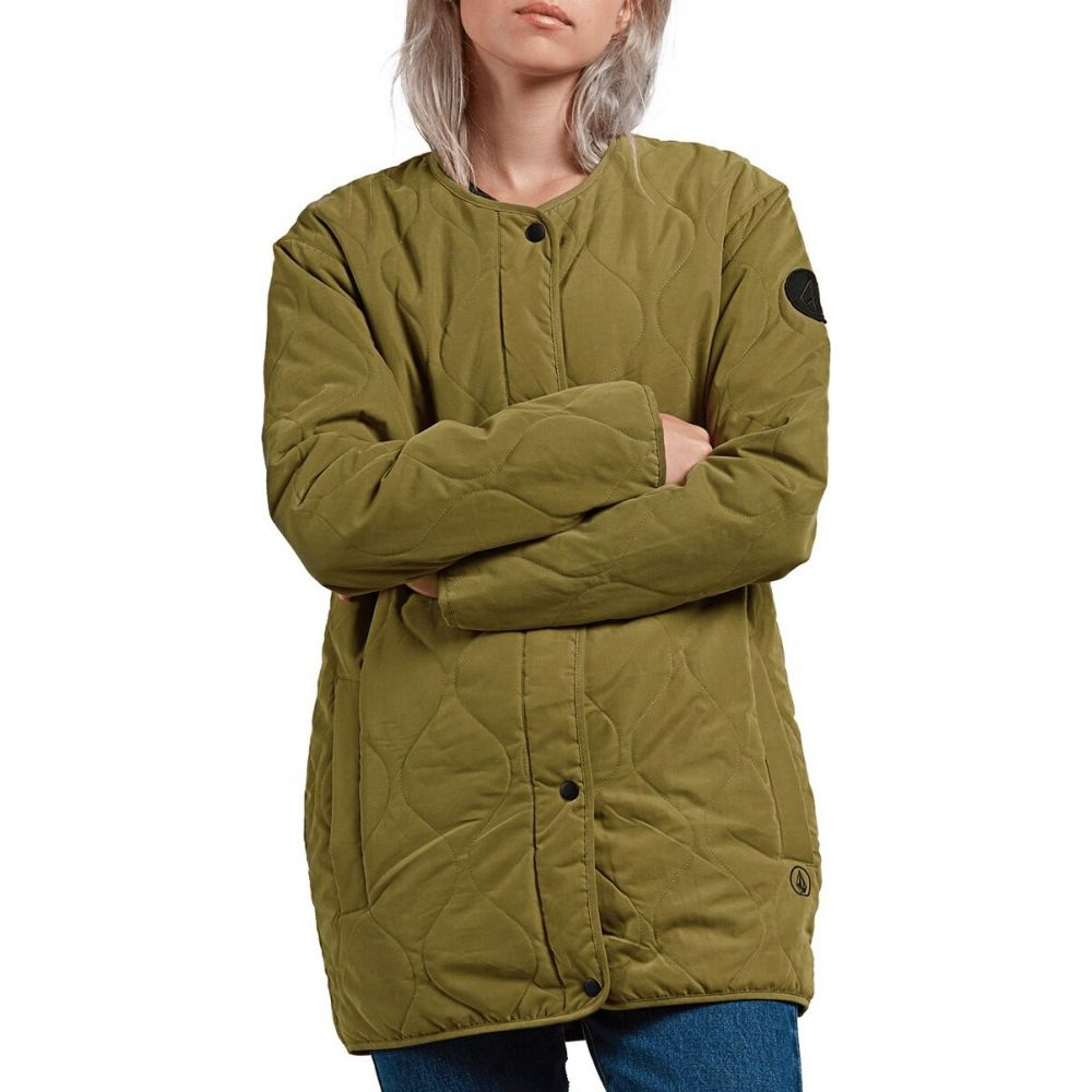 ボルコム Volcom レディース ジャケット アウター【Jacket Liner Insulated Jacket】Military