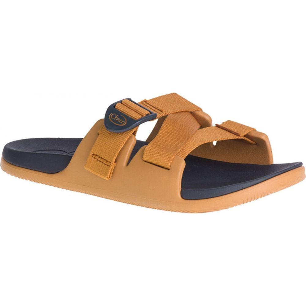 チャコ Chaco レディース サンダル・ミュール シューズ・靴【Chillos Slide Sandals】Gold