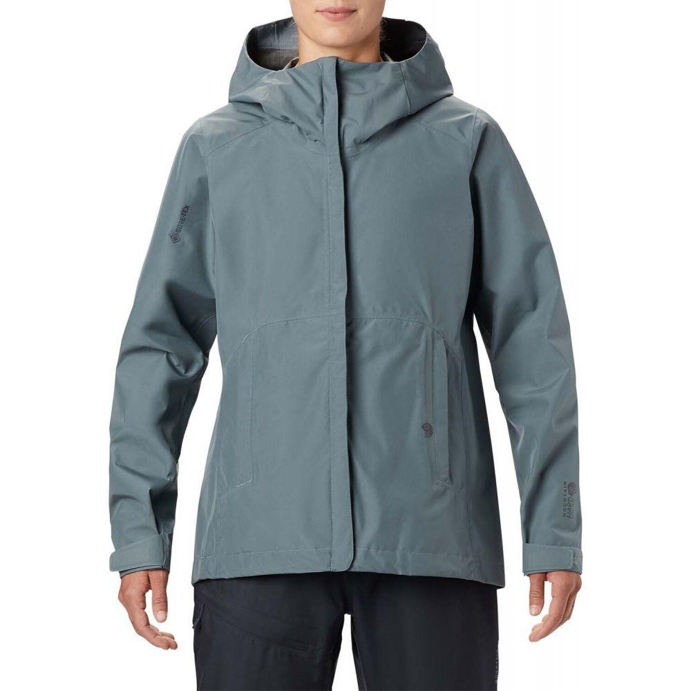 マウンテンハードウェア Mountain Hardwear レディース ジャケット アウター【Exposure/2(TM) GORE-TEX Paclite Jacket】Light Storm