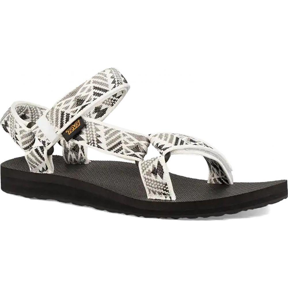 テバ Teva レディース サンダル・ミュール シューズ・靴【Original Universal Sandal】Boomerang White/Grey