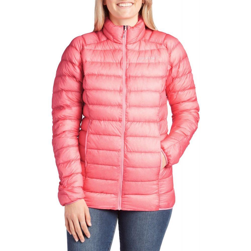 ノローナ Norrona レディース ダウン・中綿ジャケット アウター【Bitihorn Superlight Down900 Jacket】Geranium Pink