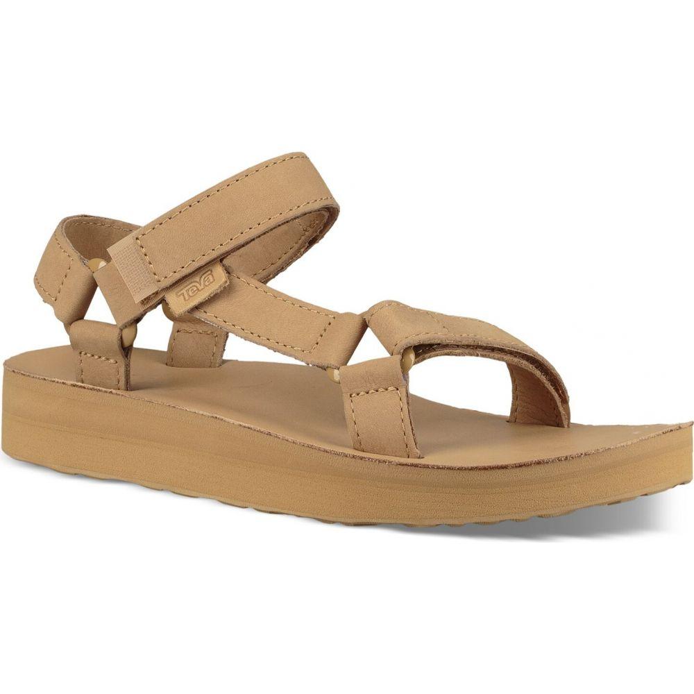 テバ Teva レディース サンダル・ミュール シューズ・靴【Midform Universal Leather Sandals】Desert Sand