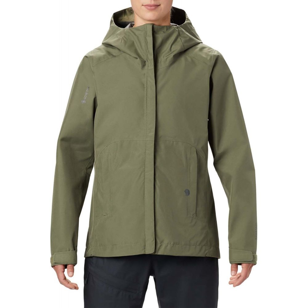マウンテンハードウェア Mountain Hardwear レディース ジャケット アウター【Exposure/2(TM) GORE-TEX Paclite Jacket】Light Army