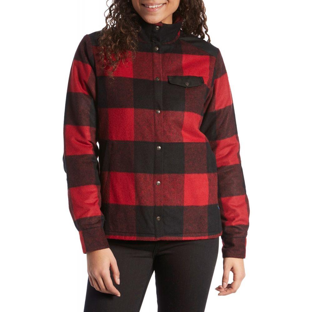 フェールラーベン Fjallraven レディース ジャケット アウター【Canada Wool Padded Jacket】Red