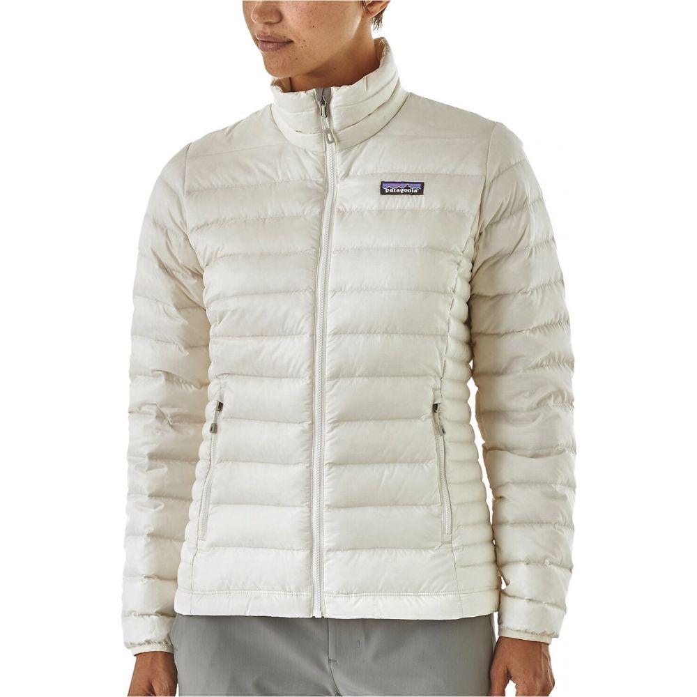パタゴニア Patagonia レディース ダウン・中綿ジャケット アウター【Down Sweater】Birch White