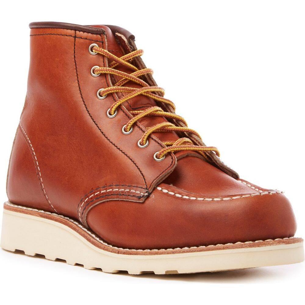 レッドウィング Red Wing レディース ブーツ シューズ・靴【6-Inch Classic Moc Boots】Oro Legacy Leather