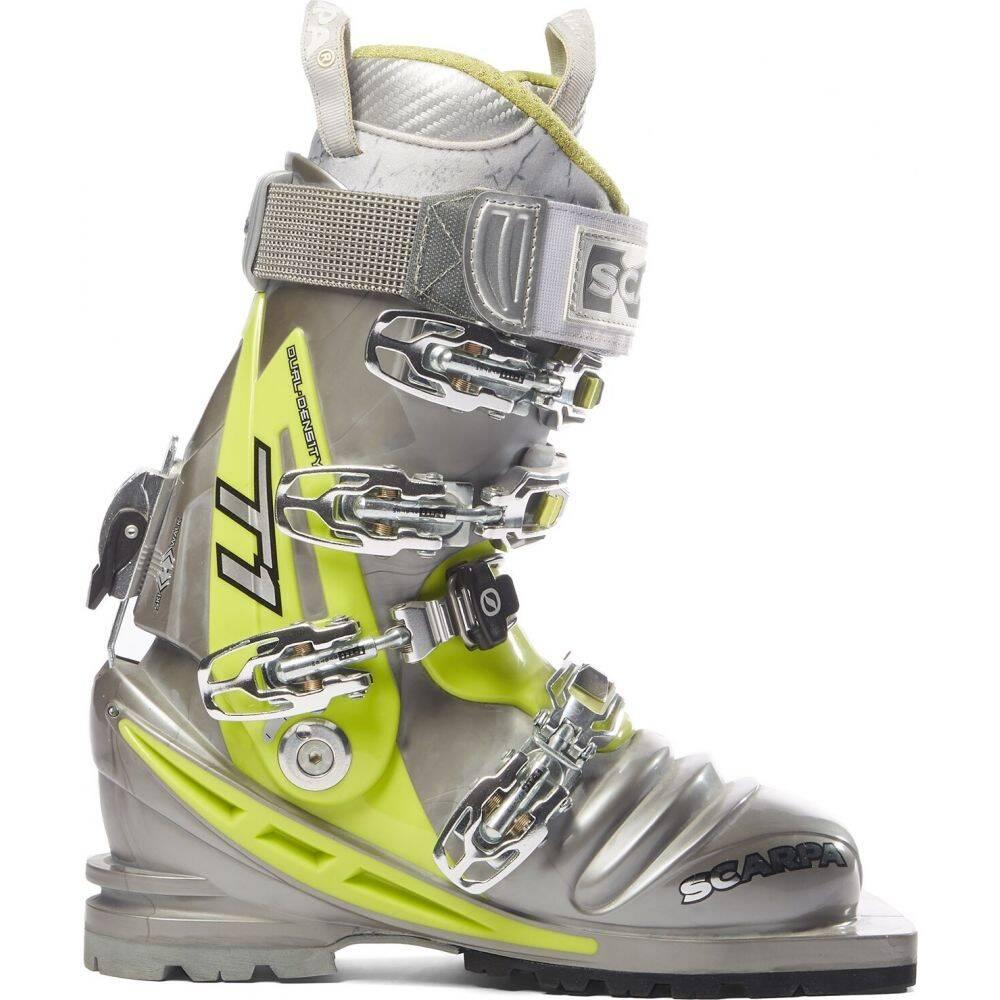 スカルパ Scarpa レディース スキー・スノーボード ブーツ シューズ・靴【T1 Telemark Ski Boots 2016】Shark/Lime