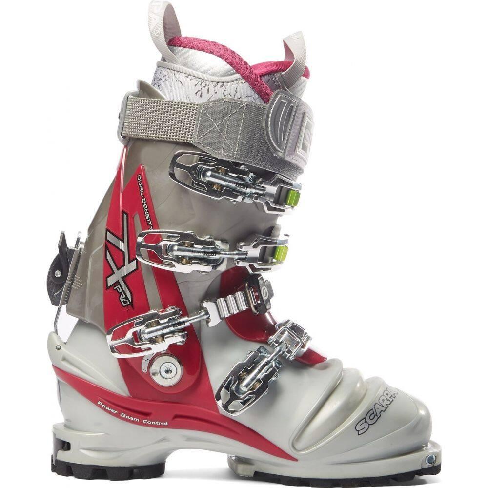 スカルパ Scarpa レディース スキー・スノーボード ブーツ シューズ・靴【TX Pro Telemark Ski Boots 2016】Silver/Magenta