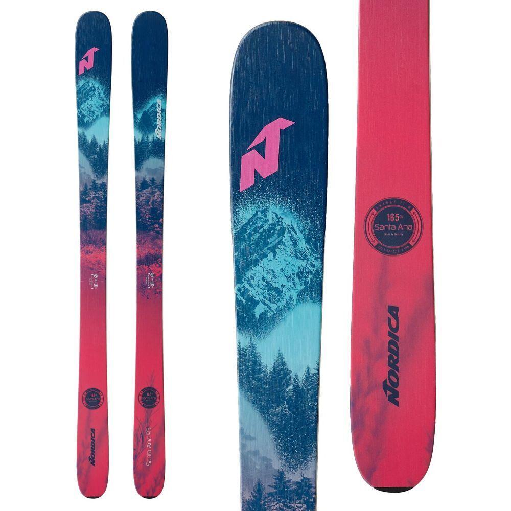 <title>ノルディカ レディース スキー スノーボード ボード 板 サイズ交換無料 Nordica Santa 通販 激安◆ Ana 93 Skis 2021</title>