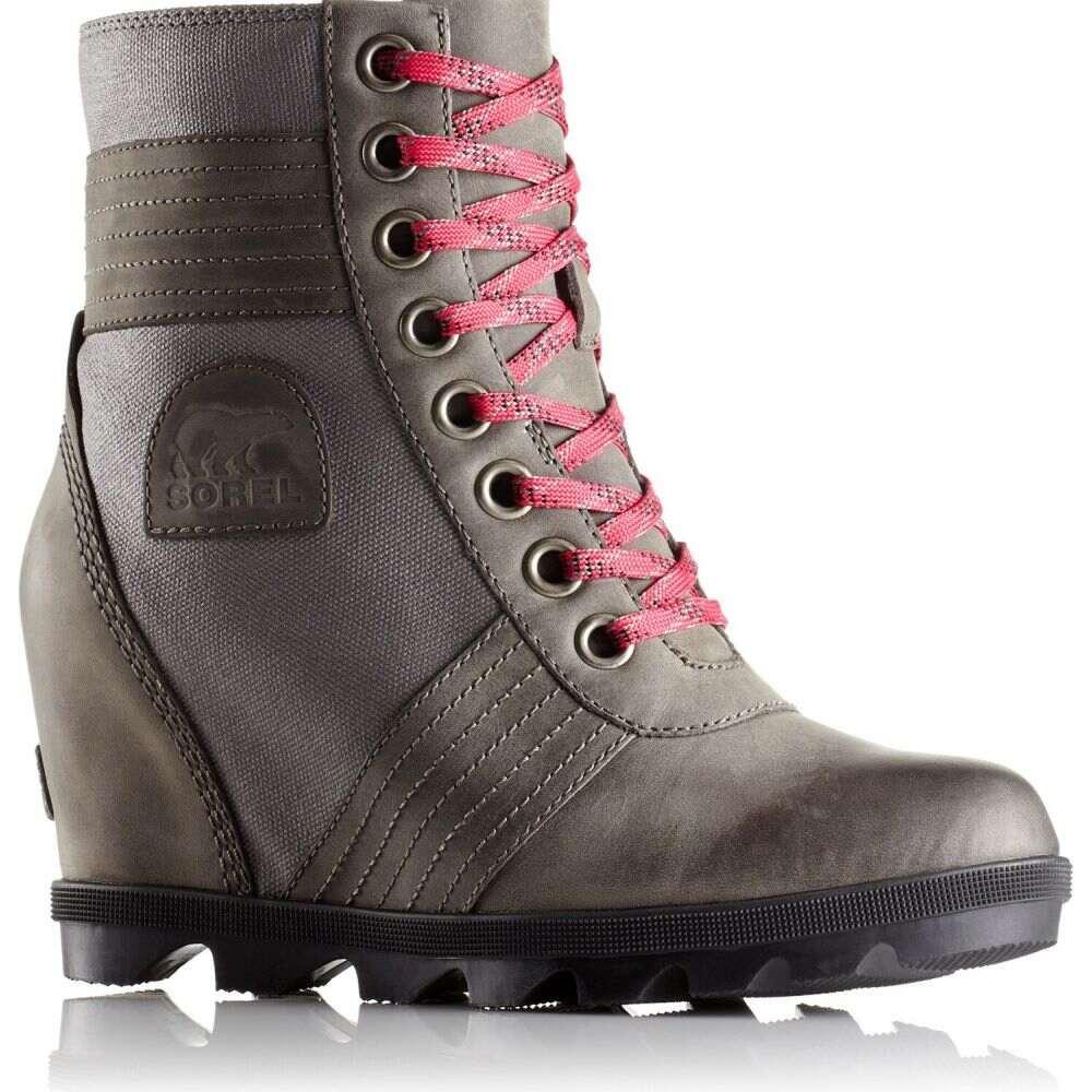 ソレル Sorel レディース ブーツ ウェッジソール シューズ・靴【Lexie Wedge Boots】Quarry