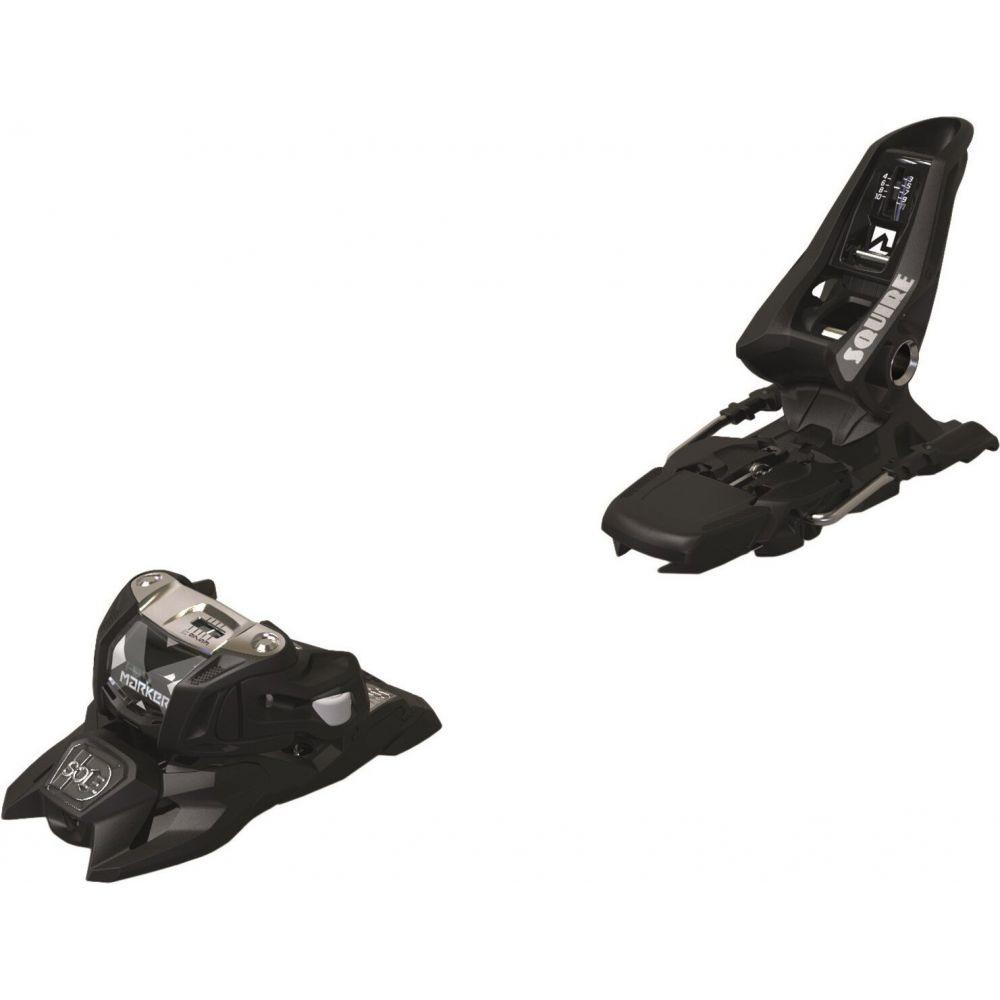 通常便なら送料無料 メーカー ユニセックス スキー 70%OFFアウトレット スノーボード ビンディング Black サイズ交換無料 Marker ski 2021 squire id 11 bindings