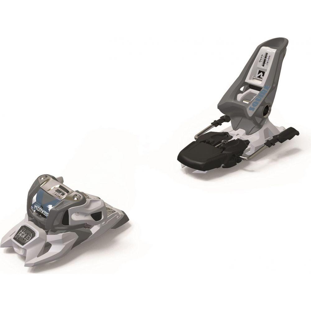メーカー ユニセックス スキー スノーボード ビンディング Gray White いよいよ人気ブランド サイズ交換無料 bindings squire Marker 11 ski id 2021 引き出物