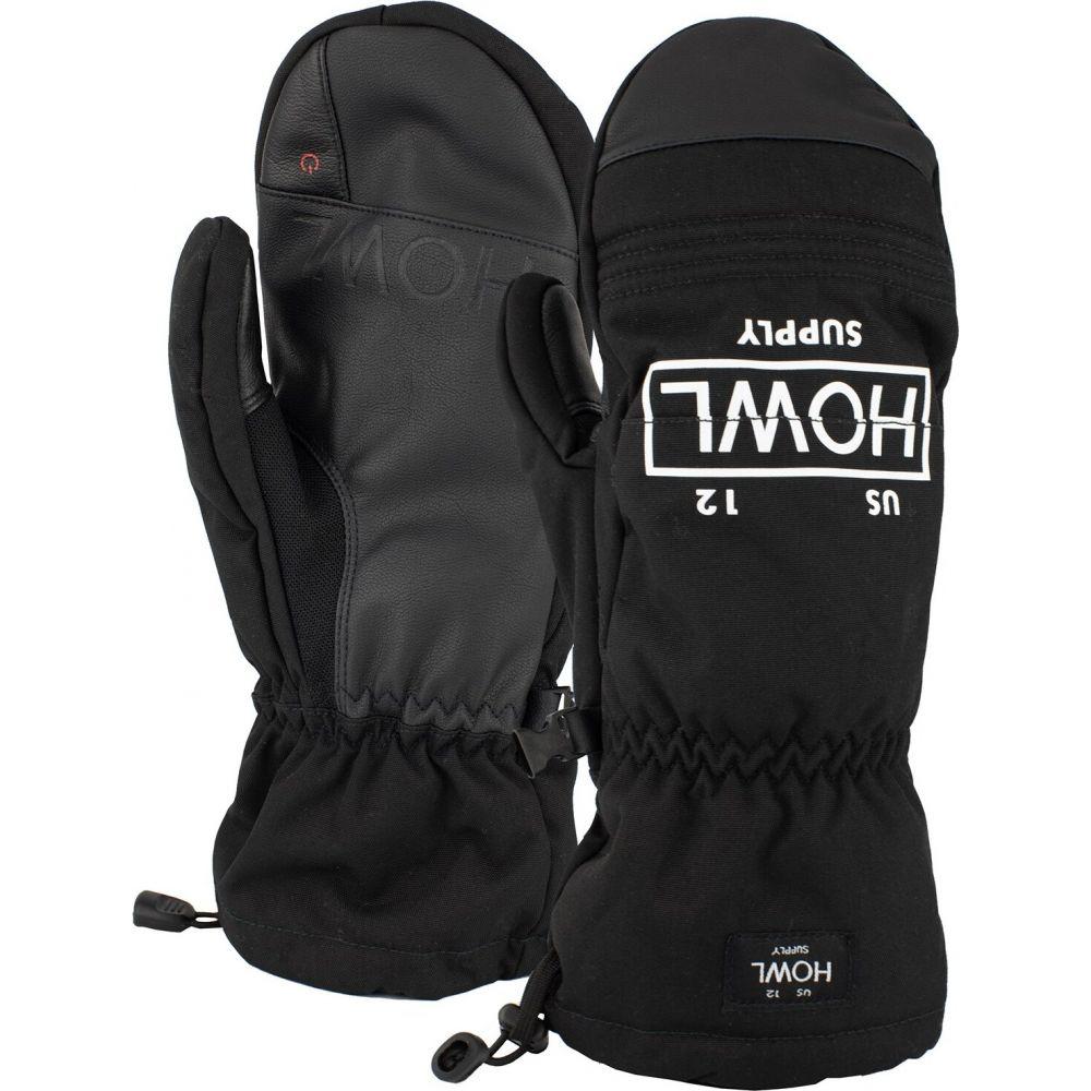 ハウル メンズ 品質検査済 ファッション小物 手袋 グローブ mitts サイズ交換無料 team Black 受賞店 Howl