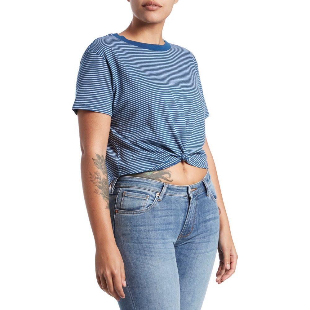 ルーカ RVCA レディース Tシャツ トップス【Radley T-Shirt】Federal Blue